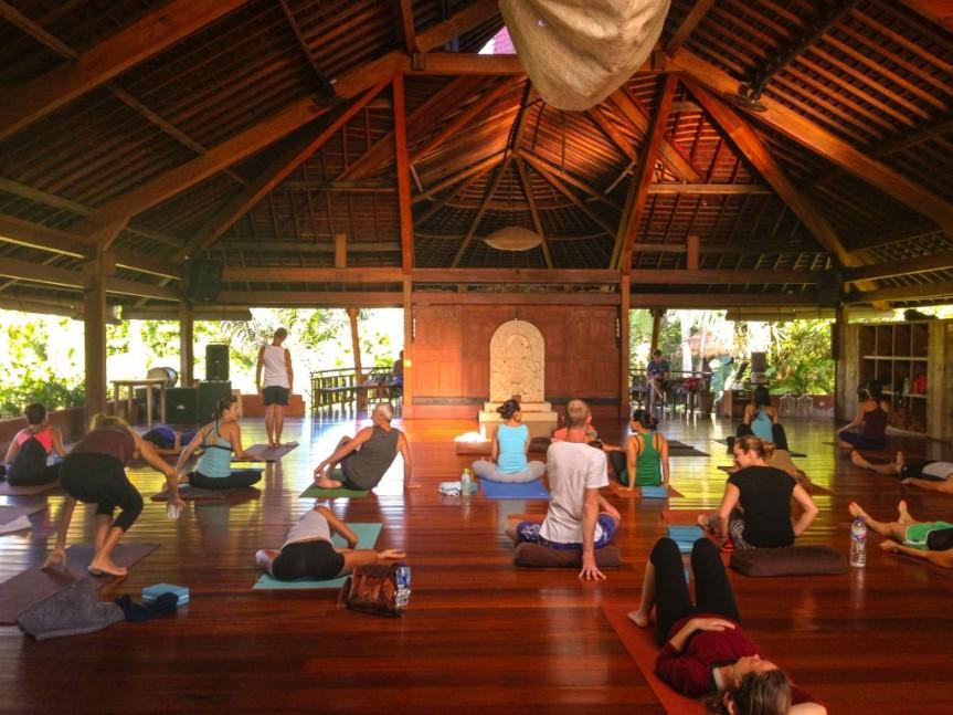 The Yoga Barn,Bali.