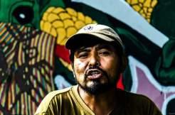 Ronnie, ex guerrigliero della comunità Nuevo Horizonte