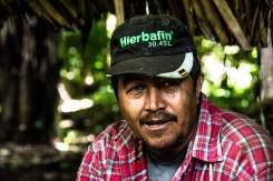 El Gato, ex guerrigliero della comunità Nuevo Horizonte.
