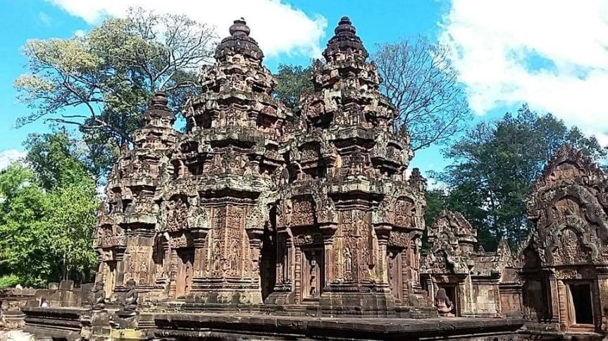 Angkor, l'impero di templi più spettacolare di tuttal'Asia.