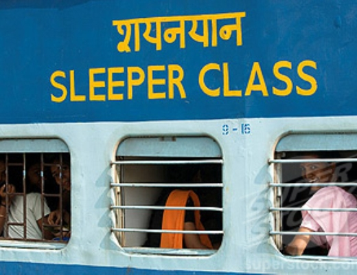 Sleeper Coach, Indian Railways, India
