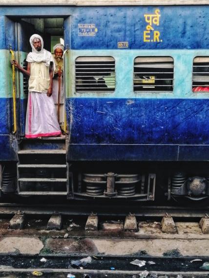 Il treno per Varanasi