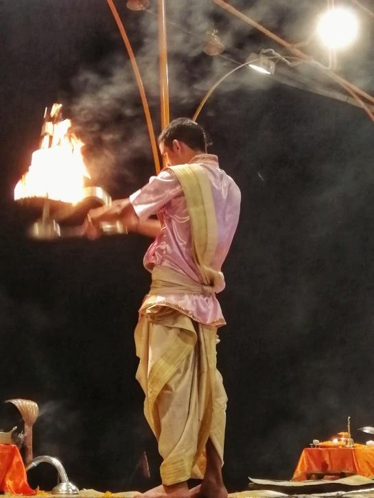La puja serale, Varanasi.