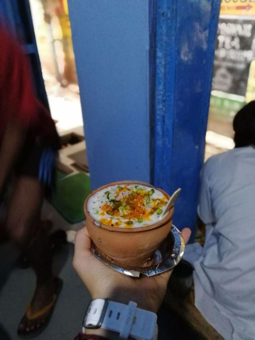 Lassi, semplicemente delizioso. Blue Lassi di Varanasi