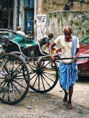 Lungo le strade di Calcutta