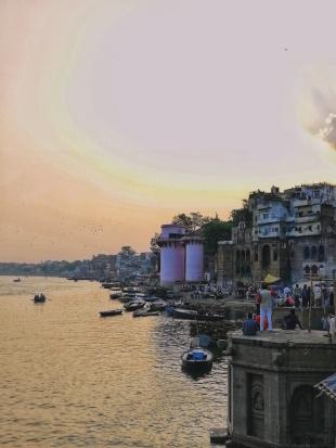 Panoramica di Varanasi