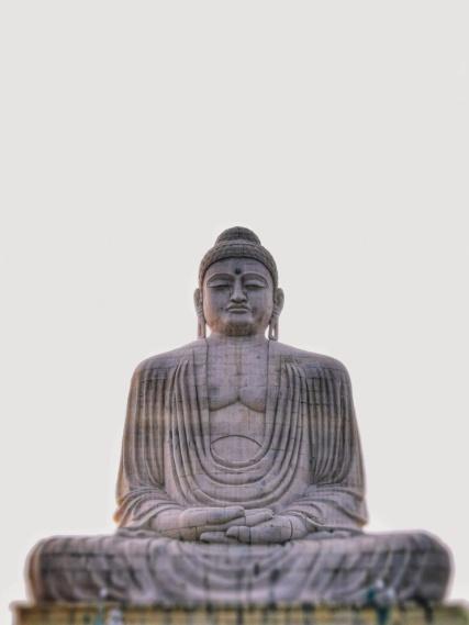 Il Buddha gigante di Bodh Gaya