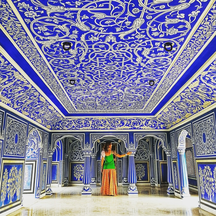 Blu, oro e rosa: i colori dell'India dal Rajasthan alPunjab.