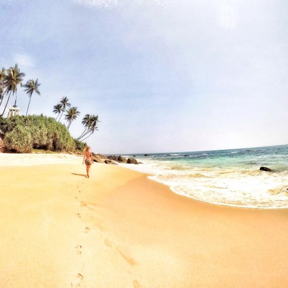 Sri Lanka, spiaggia di Tangalla.