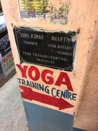 outside the yoga training center